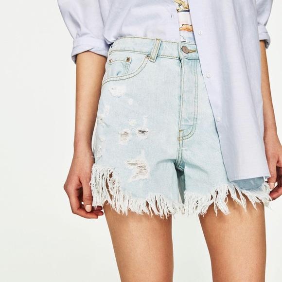 Zara Pants - Zara   Trafaluc Denimwear   High-Rise   Distressed